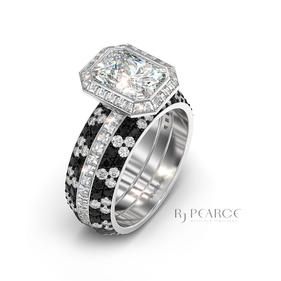 Gallery - Diamonds - Black & White Bridal